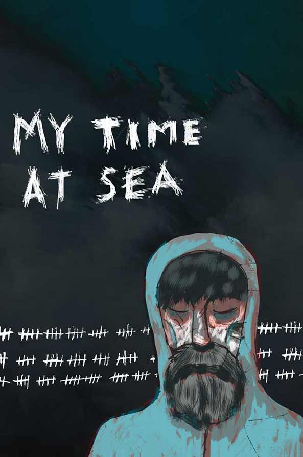My Time At Sea - Book cover design
